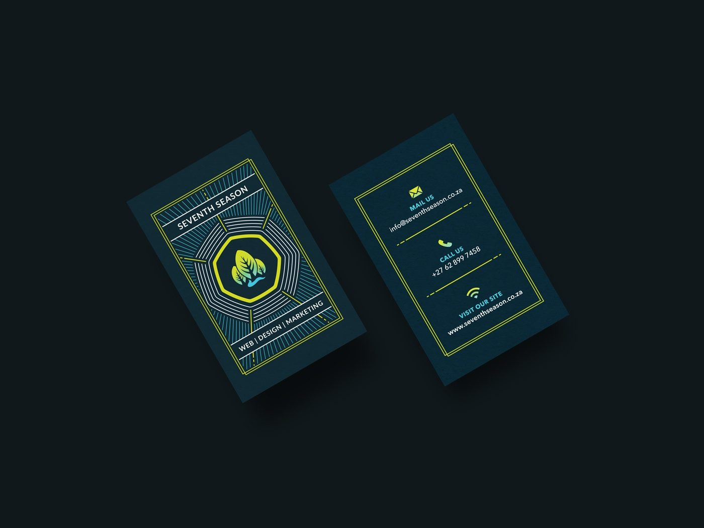 Seventh Season Business Card Design