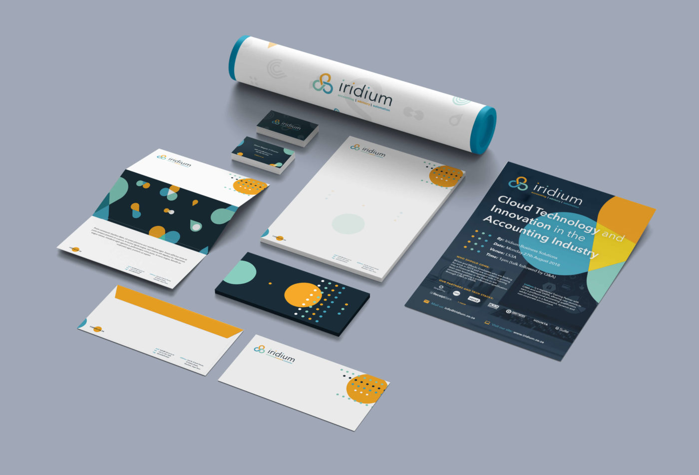 Iridium Corporate Identity Design